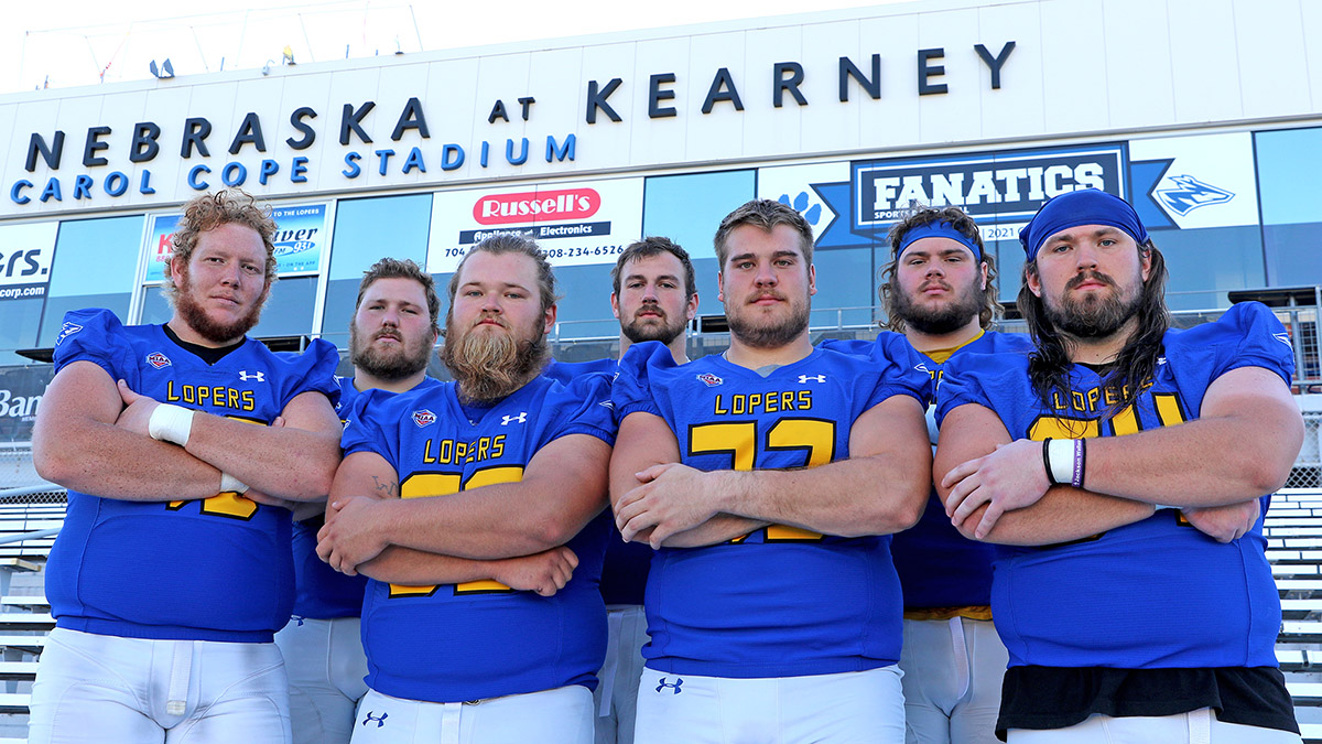Behind a strong offensive line, the UNK offense is averaging 272 rushing yards per game, which ranks third in Division II.
