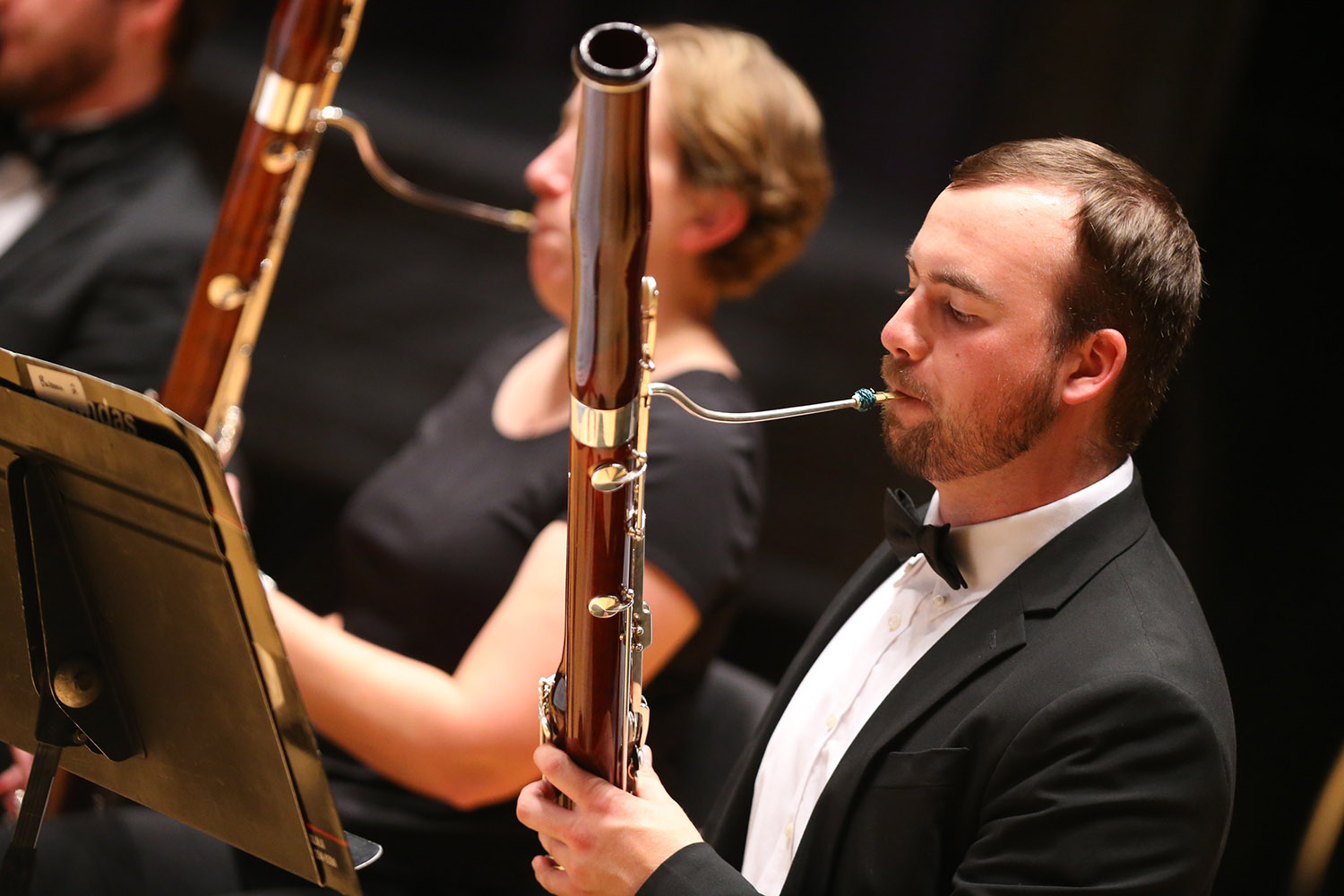 Kearney Symphony Orchestra will perform its season-opening concert Tuesday evening at UNK. (Photo by Corbey Dorsey)