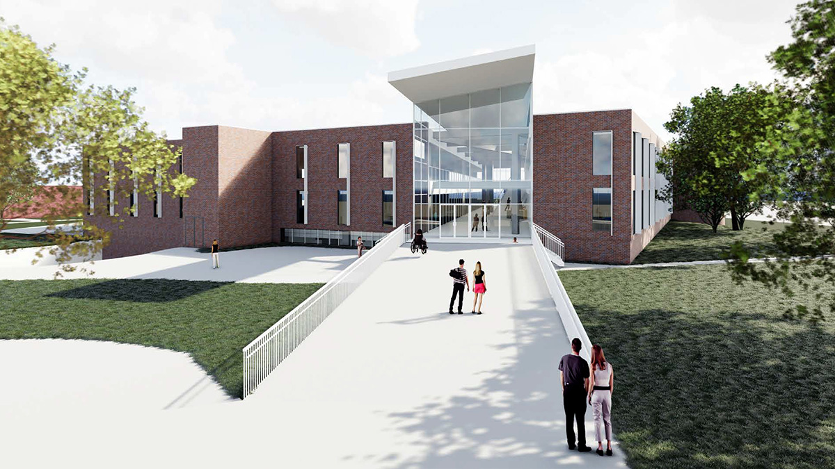 A roughly $25 million renovation project will modernize UNK's Calvin T. Ryan Library and create spaces that better meet the needs of students, staff and faculty.
