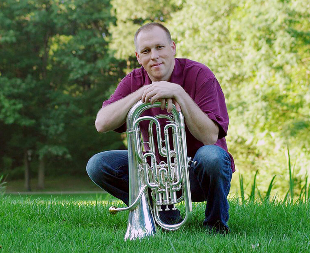 Robert Benton is the featured euphonium soloist for the upcoming Kearney Symphony Orchestra concert. (Courtesy photo)