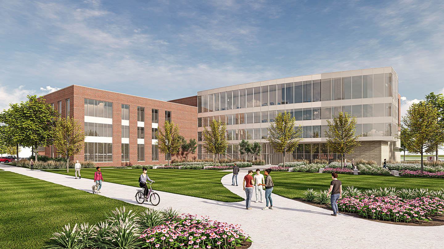 A proposed Rural Health Complex at UNK would allow more students in a variety of health fields to study and train in Kearney.