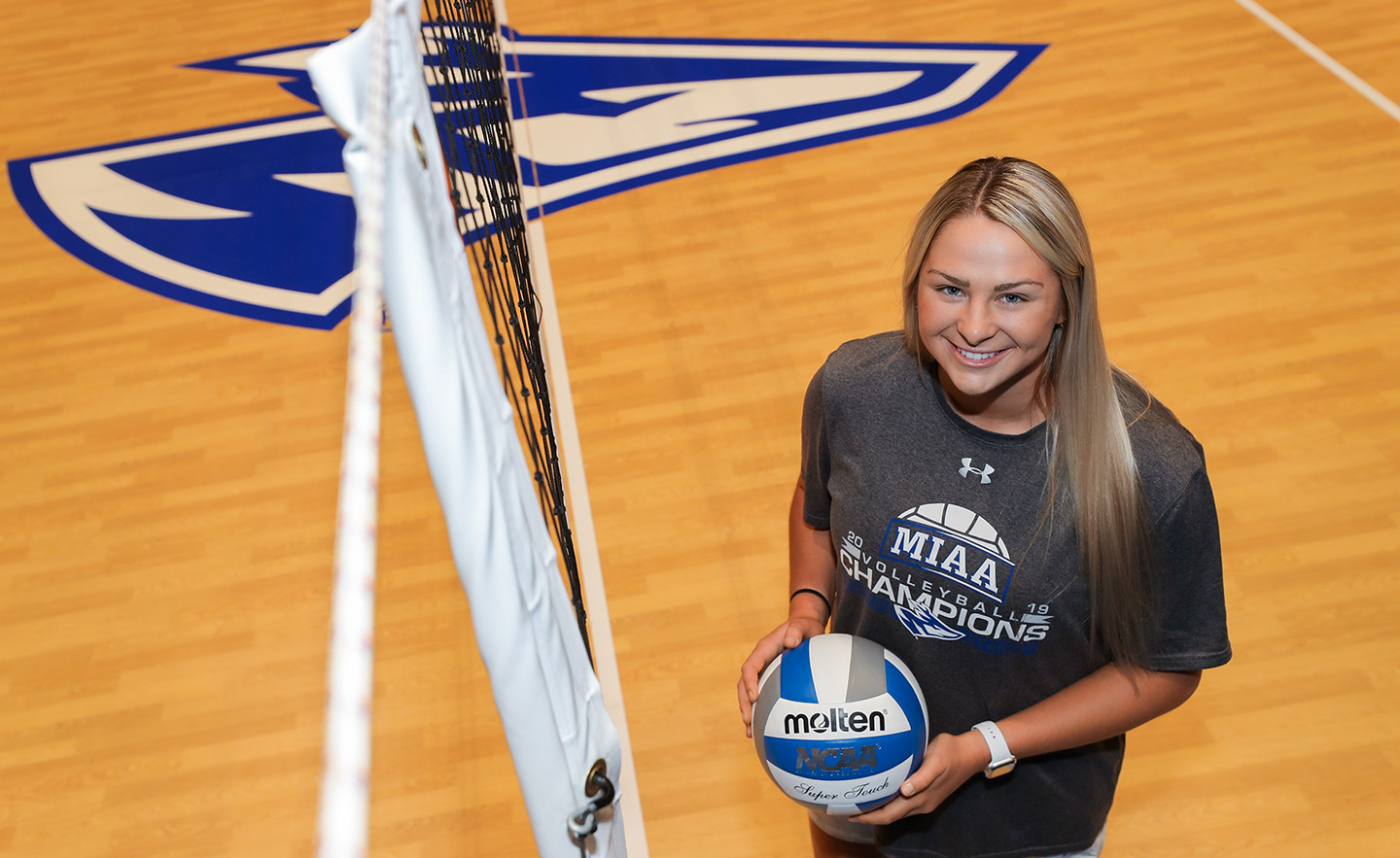 """""""I knew it wasn't going to be easy, and most days were going to be harder than the last, but at the end of the day I knew I wanted to be part of the Loper volleyball program,"""" Sami Mauch said of her recovery from two knee surgeries."""