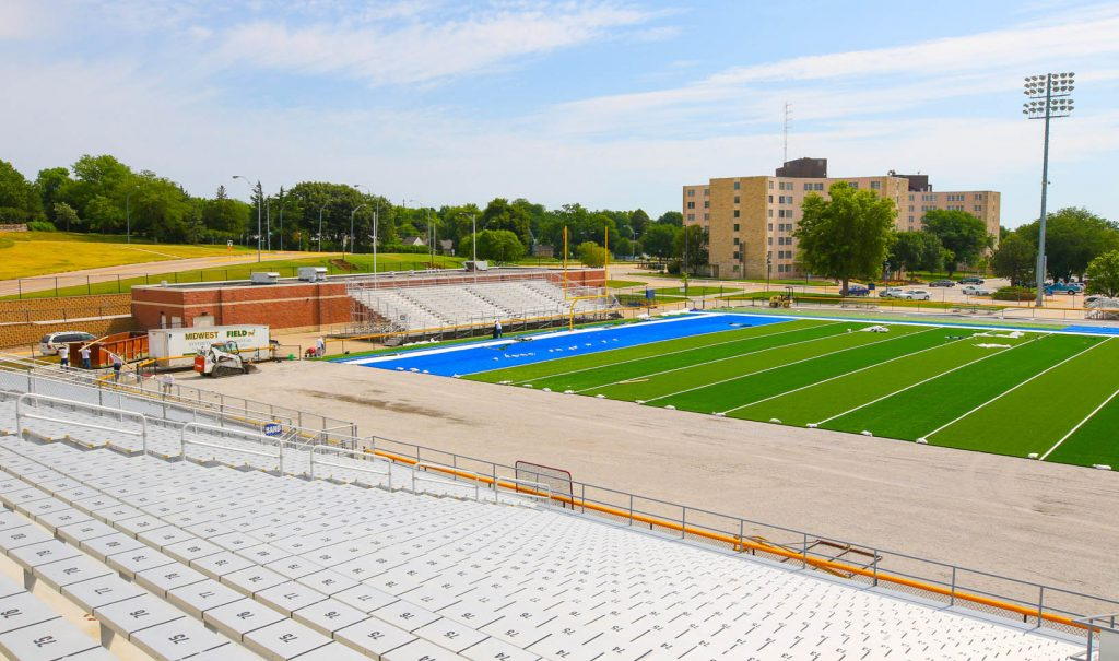 Photo Gallery Unk Fieldturf Project Nearing Final Stages