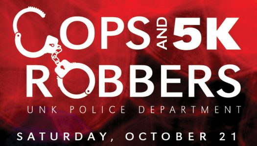 Cops and Robbers 5K Logo