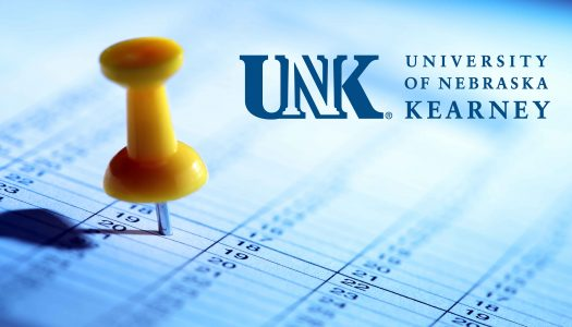 UNK Calendar Graphic