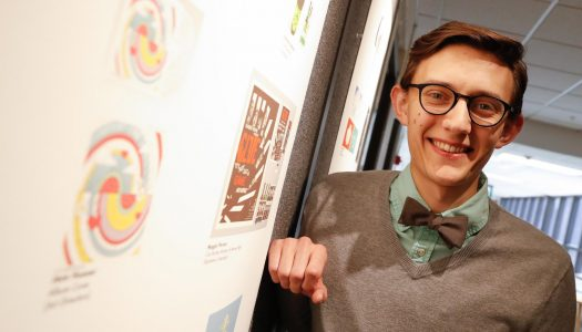 Drawn to art, Jase Hueser forges own path at UNK; Top honors at Nebraska ADDYs