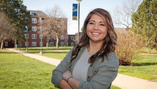 """""""This is your home when you come here,"""" said McKenzie Cuba, calling her enrollment at UNK the best decision she's ever made."""