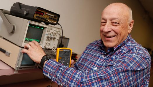 Ron Tuttle, who has taught electricity and electronics throughout his tenure, is retiring after 44 years as an industrial technology professor at UNK. He said the challenge of staying up-to-date in the industrial technology and information networking and telecommunications fields didn't leave time for many dull moments.
