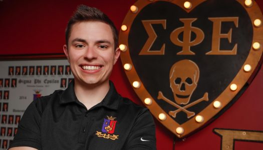 """We don't want to build great fraternity men or great SigEp men. We want to build great men that society will see."""