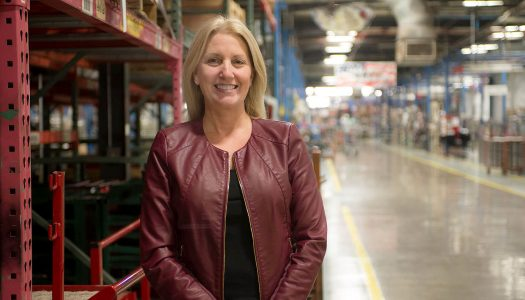 Longtime manufacturing executive Judy Altmaier was recognized Thursday as an honored alumna by the UNK College of Business and Technology. The former Kearney resident has traveled the world leading Eaton Corp. and The Toro Co. (Photo courtesy, The Toro Co.)