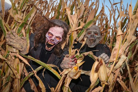 Scary-good idea: UNK fraternities team with KneeKnocker Woods to raise funds for charities