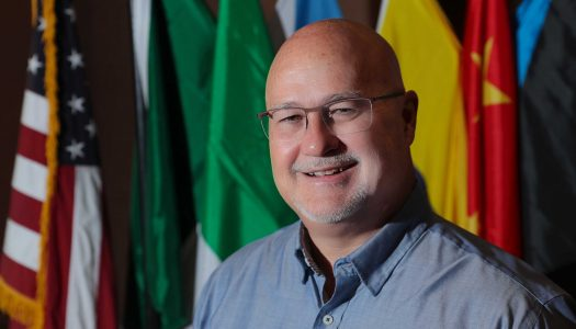 Tim Burkink sees value in international education – at UNK and abroad; Business dean transitions to new role