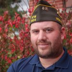 Jason Baker, who attends UNK, served 11 years in the U.S. Army and Nebraska Army National Guard, including deployments to Iraq and Afghanistan. He is a member of the Veterans of Foreign Wars, American Legion and Disabled American Veterans. (Photo by Corbey R. Dorsey, UNK Communications)