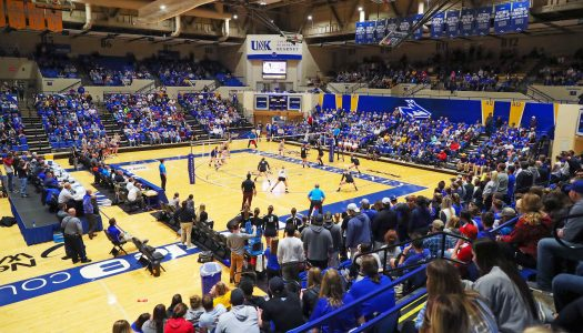 VOLLEYBALL VIDEO: Harding spoils NCAA party; Lopers end season with 33-3 record