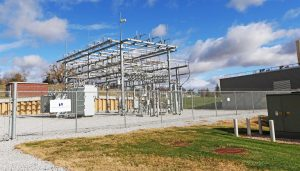 UNK has taken several steps toward reaching energy usage goals, including real-time tracking of production at the on-site utility plant. (Photo by Todd Gottula, UNK Communications)