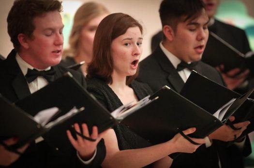 PHOTO GALLERY: Collegium Choir Concert at Museum of Nebraska Art