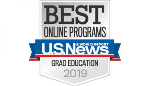 UNK online graduate education program ranked 25th by U.S. News & World Report