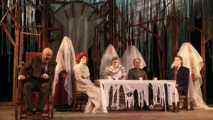 """University Theatre at Kearney presents """"The Ghost Sonata"""" at 7:30 p.m. Wednesday through Sunday (Feb. 20-24) at the University of Nebraska at Kearney. (Photo by Corbey R. Dorsey, UNK Communications)"""