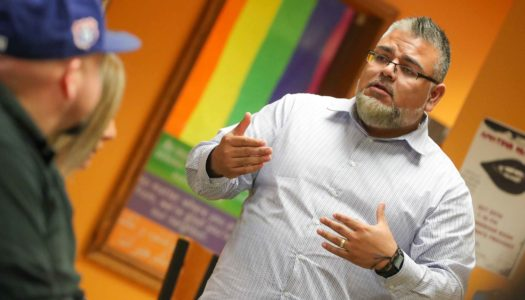 """""""Our goal is to create an environment that educates our students on diversity issues and makes everyone feel welcome, regardless of race, ethnicity or other backgrounds,"""" said Juan Guzman, director of the Office of Student Diversity and Inclusion."""