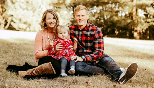 Jerromy Cissell lives in Kearney with his wife Blair and 20-month-old daughter Bexley. The couple met during a North Platte Community Playhouse production and married in October 2015 – one month before his second deployment to Afghanistan. (Courtesy photo)