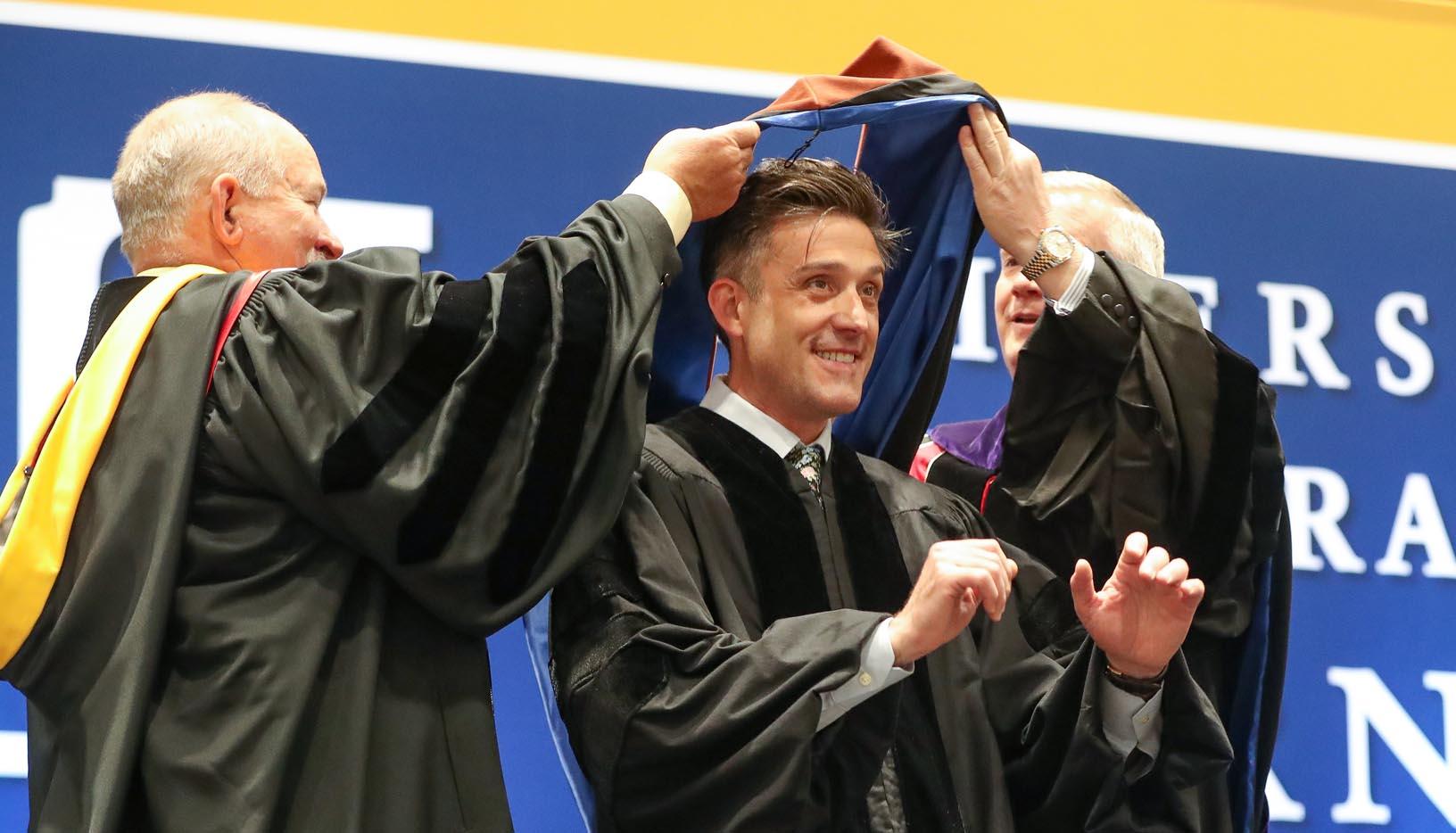 VIDEO: Jon Bokenkamp's Address To 2019 UNK Graduates