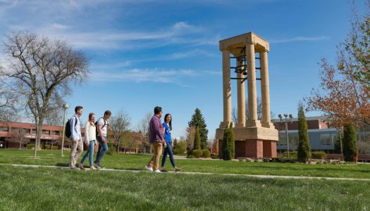 University of Nebraska at Kearney's enrollment of 6,279 includes students from 92 of 93 Nebraska counties, 48 states and 59 countries. (Photo by Corbey R. Dorsey, UNK Communications)