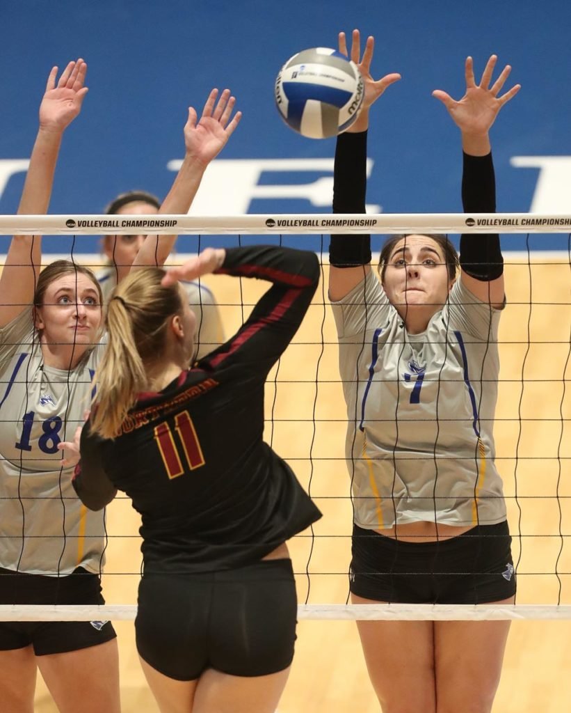 Photo Gallery Another Sweep Puts Unk Volleyball In Regional Final