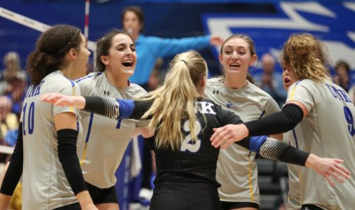 PHOTO GALLERY: Another sweep puts UNK volleyball in regional final