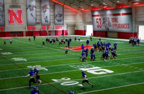 PHOTO GALLERY: UNK Football uses Husker practice facility for Mineral Water Bowl prep