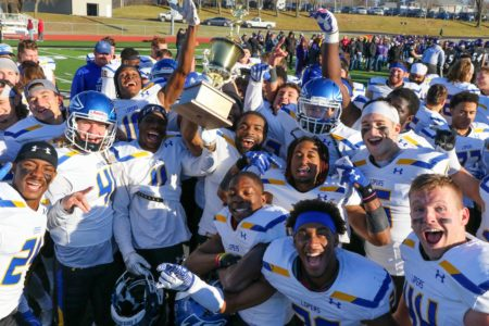 PHOTO GALLERY: UNK tastes sweet victory over Winona State in Mineral Water Bowl