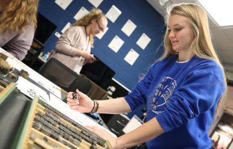 High schoolers explore art programs, career options during UNK's Imagination Day
