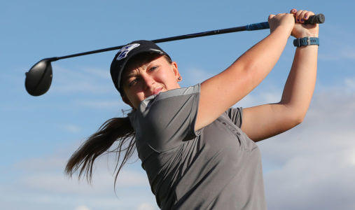 Athletics, academics made UNK 'a special place' for senior Mikayla Frei