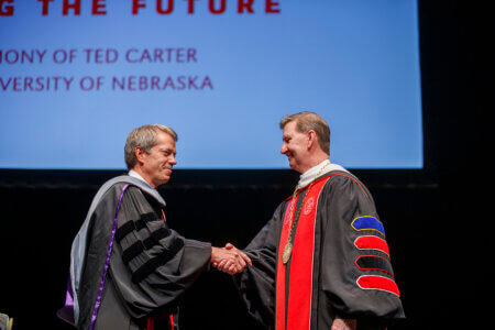 Newly installed university president charts path for growth, success