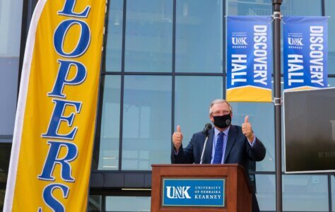 UNK celebrates 'future of higher education' at Discovery Hall grand opening