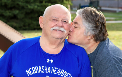 'God didn't want me yet': UNK employee Kenny Van Horn recovering from COVID-19