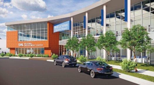 Regents approve regional engagement center at UNK's University Village