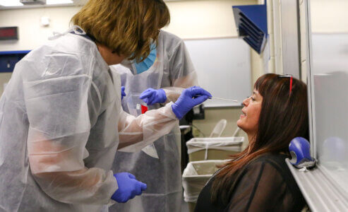 Free COVID-19 testing available for UNK students, employees