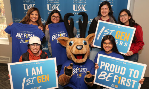 UNK recognized for commitment to first-generation student success