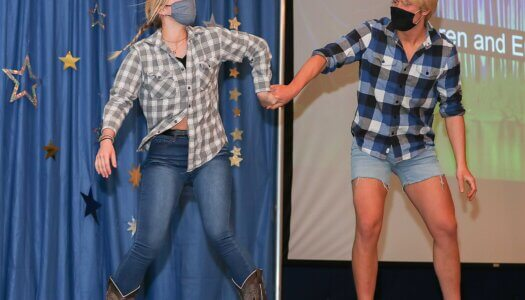 Fame Talent Show - Emma and Kieren
