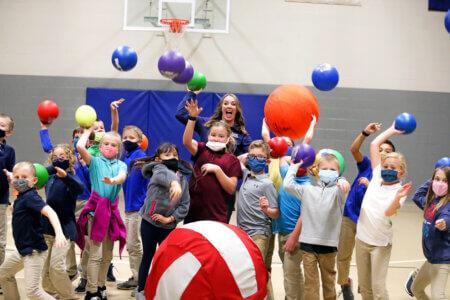 High-Tech Health: Adkins-Bollwitt uses technology to motivate, involve PE students