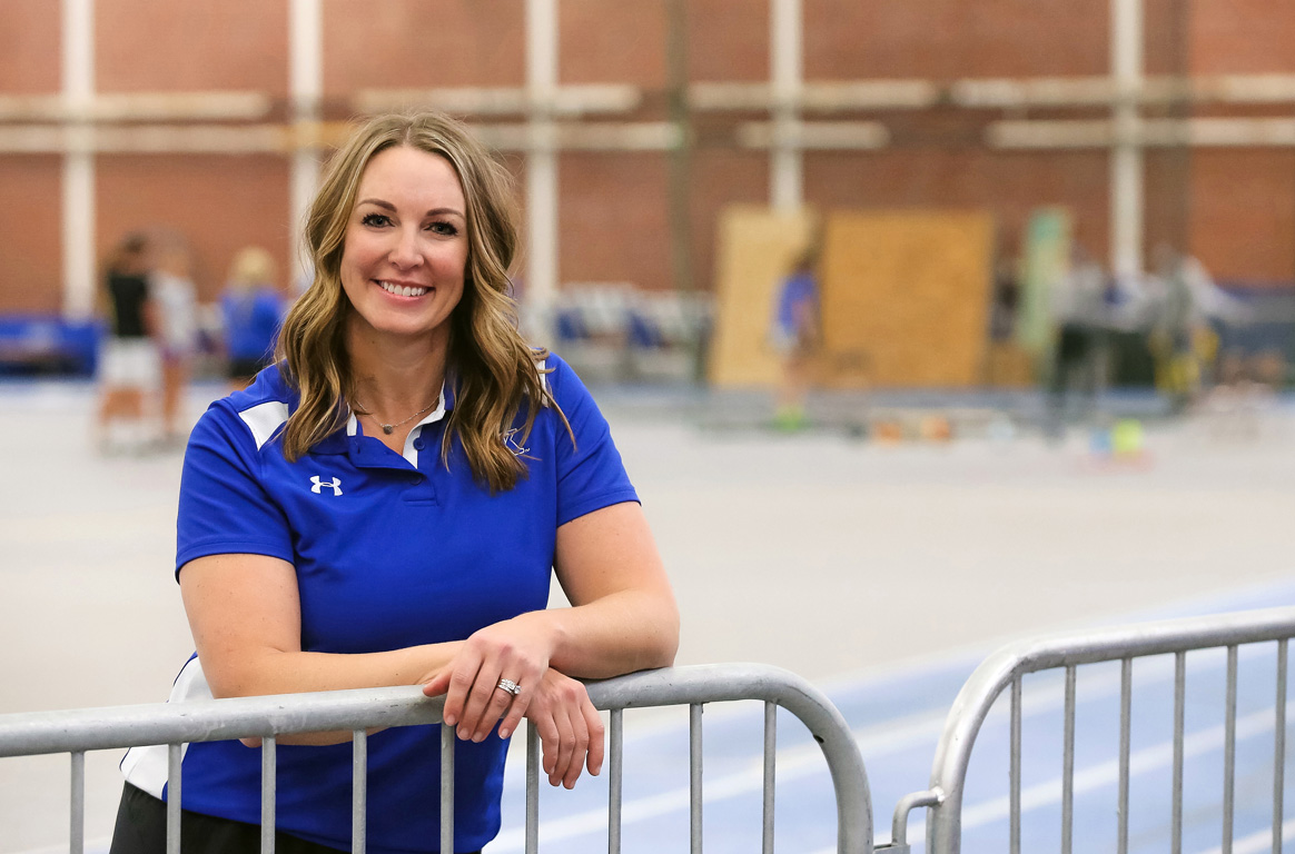 Megan Adkins-Bollwitt's research and teaching promotes an expanded definition of physical education – one that engages all students, focuses on children's entire well-being rather than just athletic skill, and takes lessons beyond gymnasium walls.
