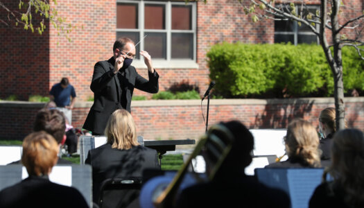 Wind Ensemble outdoor concert-08