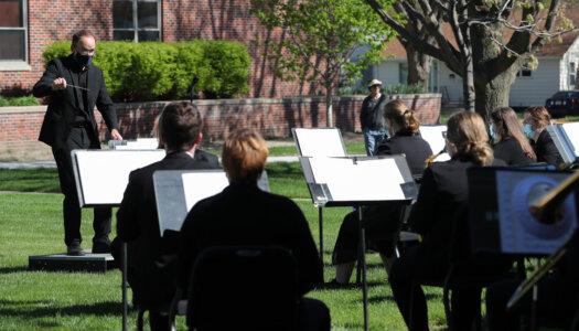 Wind Ensemble outdoor concert-09