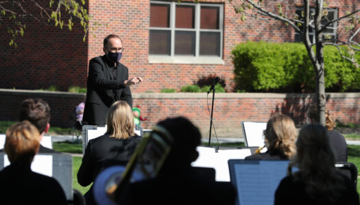 Wind Ensemble outdoor concert-10