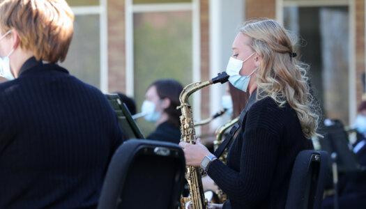 Wind Ensemble outdoor concert-13