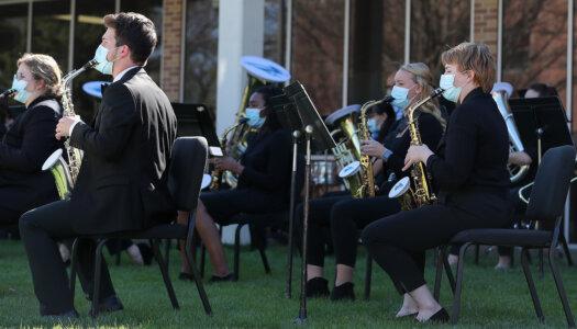 Wind Ensemble outdoor concert-18