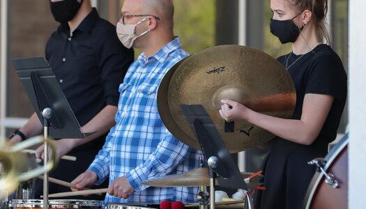 Wind Ensemble outdoor concert-20