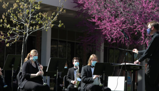 Wind Ensemble outdoor concert-3