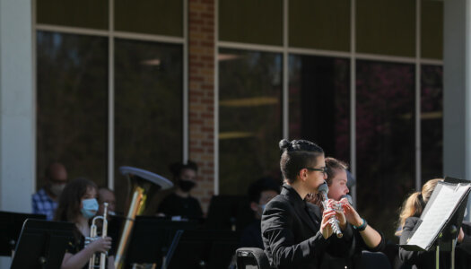 Wind Ensemble outdoor concert-4