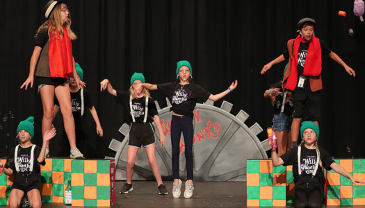 Willy Wonka Kids! dress rehearsal-15